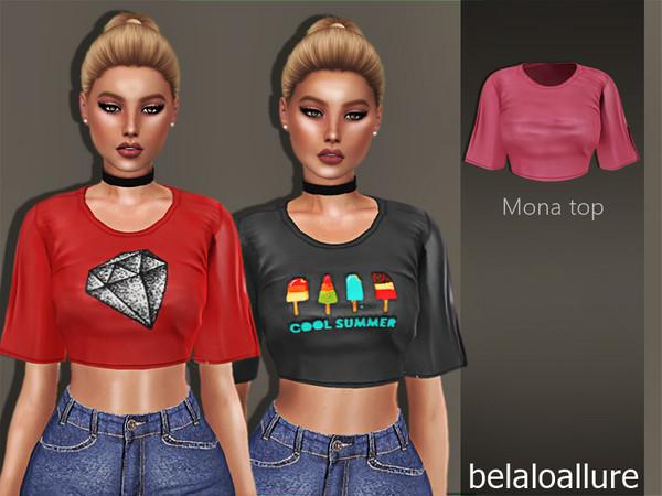 Belaloallure_Mona Top