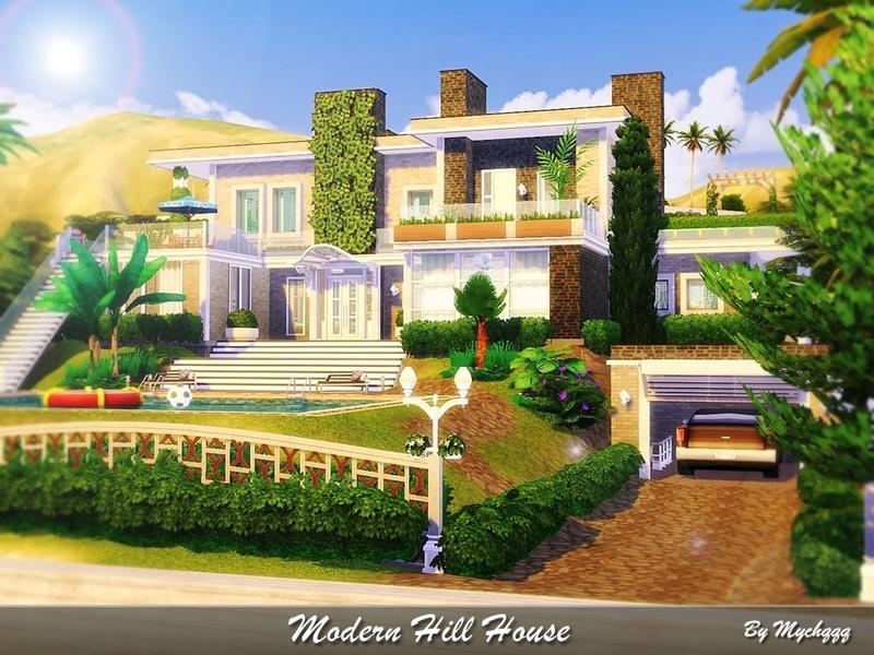 Mychqqq S Modern Hill House