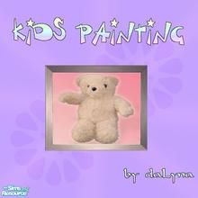Sims 2 — Painting 001 by daLyna — Painting For Kids ..:: Enjoy! ::..