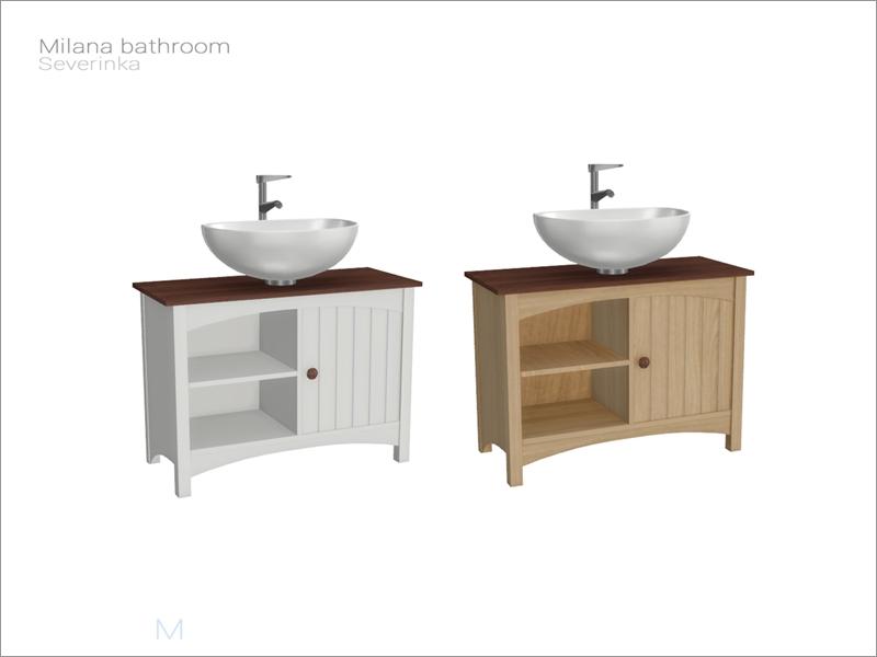 Severinka S Milana Bathroom Sink
