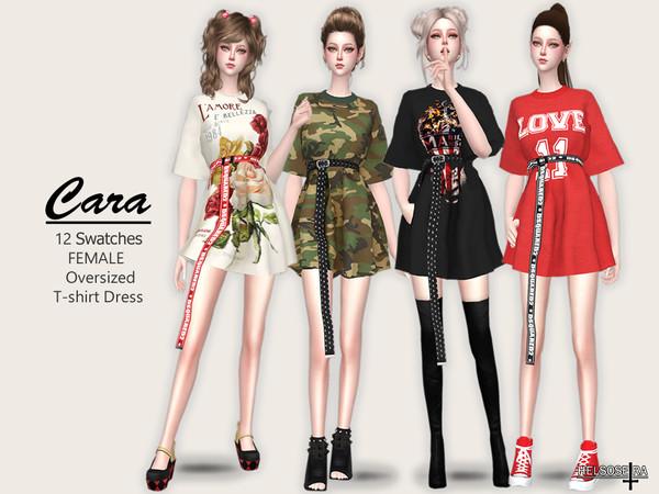CARA - T-Shirt Dress