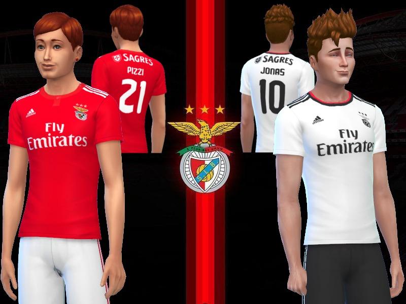 uk availability 574b1 7f813 RJG811's SL Benfica jerseys 2018/19