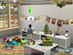 Sims 3 — kardofe_Merry Christmas by kardofe — Set of decorative objects related to Christmas, with which you can create a
