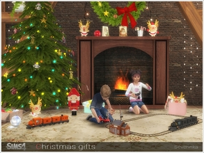 Sims 4 — Christmas gifts by Severinka_ — A set of Christmas decor for your Sims. Decorate your home for Christmas! The