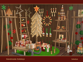 Sims 4 — Handmade Holidays by soloriya — Create special and unique holidays with these handmade objects. The set includes