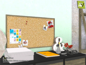 Sims 4 — Perforator Office Materials by ArtVitalex — - Perforator Office Materials - ArtVitalex@TSR, Jan 2019 - All