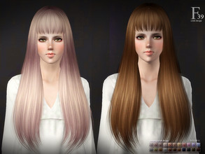 Sims 3 — sclub ts3 hair Tomie n39 by S-Club — Hi everyone! Here is my n39 hair for TS3 too! You can find the hair clipper