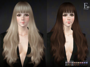Sims 3 — sclub ts3 hair kiki n40 by S-Club — Hi everyone! Here is my n40 hair for TS3 too! You can find the hair clipper