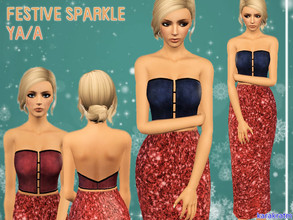 Sims 3 — Festive Sparkle YA/A by karakratm — I was working on this over the holiday season and although that may be over,