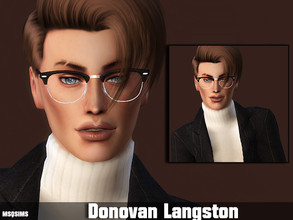 Sims 4 — Donovan Langston by MSQSIMS — Donovan Langston is a teenager who wants to become a master in culinary arts. He