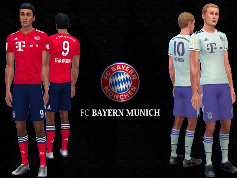 best service dc169 7fa59 RJG811's FC Bayern Munich Kit 2018/19 fitness needed