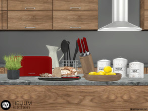 Sims 4 — Helium Kitchen Decorations by wondymoon — Decorate your kitchen with those kitchenware,lighting and decorations!