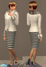 Sims 2 — NS FA set Lorenzo Riva inspired - item1. by Natalis — New mesh for female adult and original textures from show