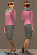 Sims 2 — NS FA set Lorenzo Riva inspired - item 2/ by Natalis — New mesh for female adult and original textures from show