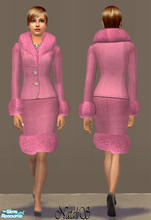 Sims 2 — NS FA set Lorenzo Riva inspired - item 3. by Natalis — New mesh for female adult and original textures from show