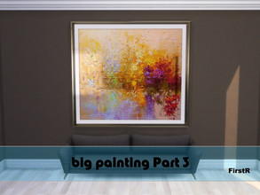 Sims 4 — Big Painting Part 3 by FirstR2 — Big Painting for your Sims