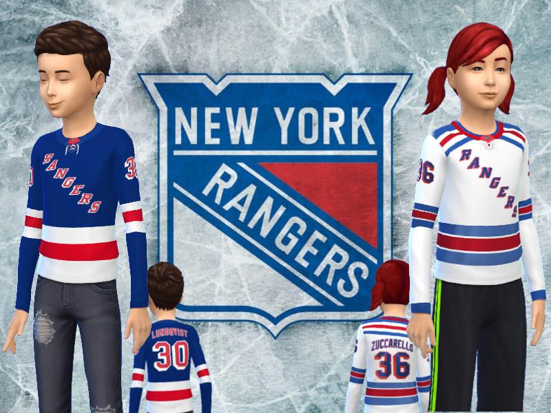 promo code 30a41 b625c RJG811's Kids NY Rangers replica jersey