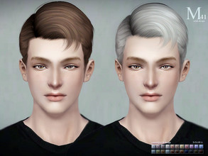 Sims 3 — Sclub ts3 hair Shawn n41 by S-Club — Hi everyone! Here is my n41 hair for TS3 too! You can find the hair clipper