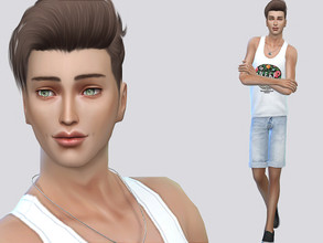 Sims 4 — Braylen Groves by MSQSIMS — Braylen Groves is a teenager who wants to have a successful career and to be rich.