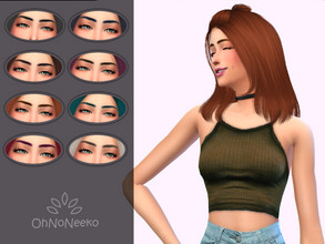 Sims 4 — ONN Kim Brows by OhNoNeeko — Kim Brows 3D Mesh Custom tumbnail 8 Color options Please check out my Tumblr below