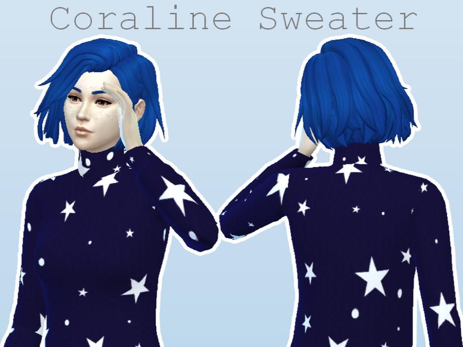Heyitssmile S Smile Coraline Sweater
