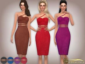 cbe210625a6b0 Textured Glitter Cut-Out Midi Dress