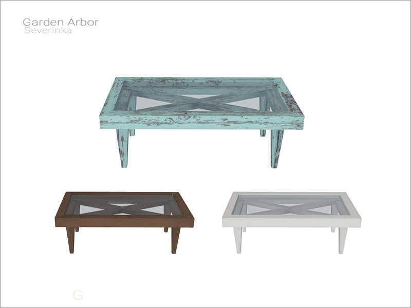 Severinka S Garden Arbor Coffee Table
