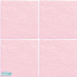 Stone Floor Tile Baby Pink