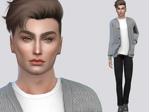 Sims 4 — Cale Fraley by MSQSIMS — Cale Fraley is a teenager who is an party animal. He is hot-headed and a geek. *
