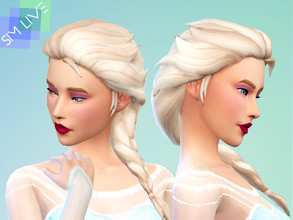 Sims 4 Hairstyles - 'maxis match'