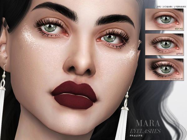 Mara Eyelashes N92 by Pralinesims