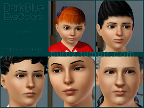 Sims 3 — Buruz_TS3_DarkBlueEyes by Buruz — Eyecolor (Contacts lenses) for all genders, all ages. Sims 3 1.67 compatible.