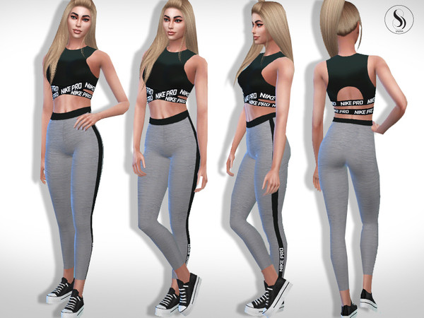 Athletic Nike Fitness Outfit