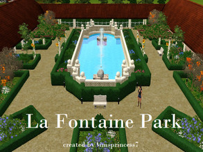 Sims 3 — La Fontaine Park Wedding Venue / Big Park by simsprincess7 — Originally created to be a wedding venue but can