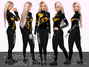 Sims 4 — ONN Fnatic Jacket by OhNoNeeko — Fnatic Jacket 3D Mesh Custom tumbnail Inspired by Fnatic merchandise Please