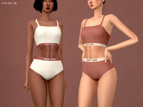 ChloeM-Cute Underwear Set
