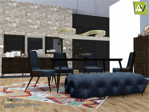 Sims 3 — Boughton Dining Room by ArtVitalex — - Boughton Dining Room - ArtVitalex@TSR, Apr 2019 - All objects are
