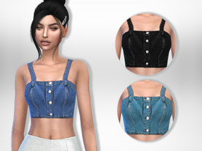 c192816e2b1 Sims 4 Clothing sets -  crop tops