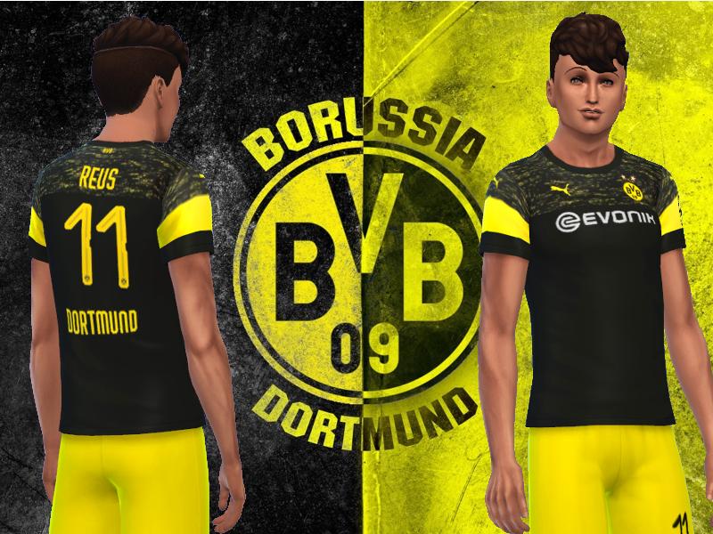 RJG811's Borussia Dortmund away jersey 2018/19
