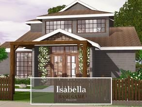 Sims 3 — Isabella by Pralinesims — Base game NO EP's and SP's