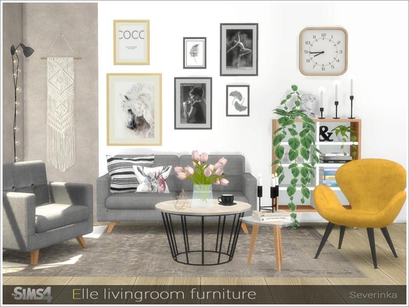 . Severinka  s Elle livingroom furniture