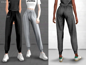 Sims 4 — ChloeM-Sports Pants by ChloeMMM — **12 colors ** New mesh by me. ** Recolor is allowed but PLEASE DO NOT include