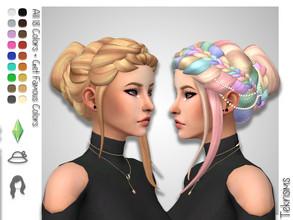 Sims 4 Hair - 'bun'