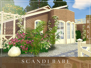 Sims 3 — Scandi Babe by Pralinesims — Base game NO EP's and SP's