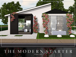 Sims 3 — The Modern Starter by Pralinesims — EP's required: Showtime Into the future