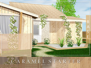 Sims 3 — Caramel Starter by Pralinesims — Base game NO EP's and SP's