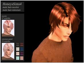 Sims 4 Hair - 'male'