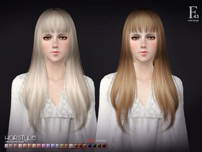 Sims 3 — sclub ts3 hair  n43 by S-Club — Hi everyone! Here is my n43 hair for TS3 too! You can find the hair clipper on