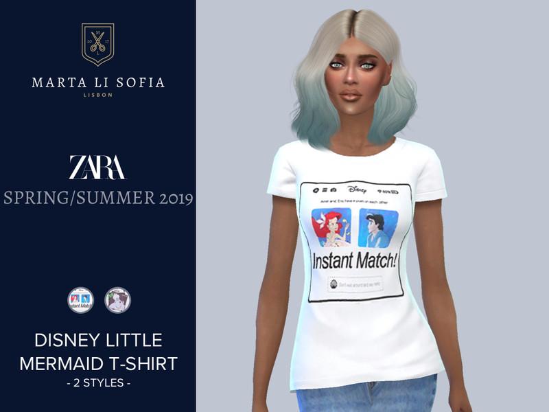 edf74ec1f6f martalisofia s Marta Li Zara Little Mermaid T-shirt