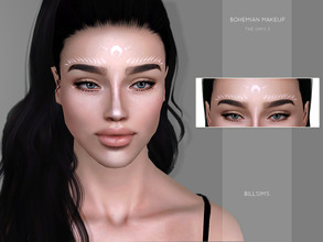 Sims 3 — Bohemian Makeup by Bill_Sims — YA/AF Makeup type; Blush Fully Recolorable | 1 channel Launcher and CAS